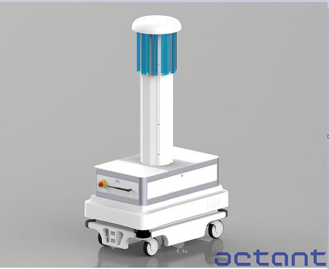 モバイルロボットの新しい活用法、「消毒・殺菌ミッション」