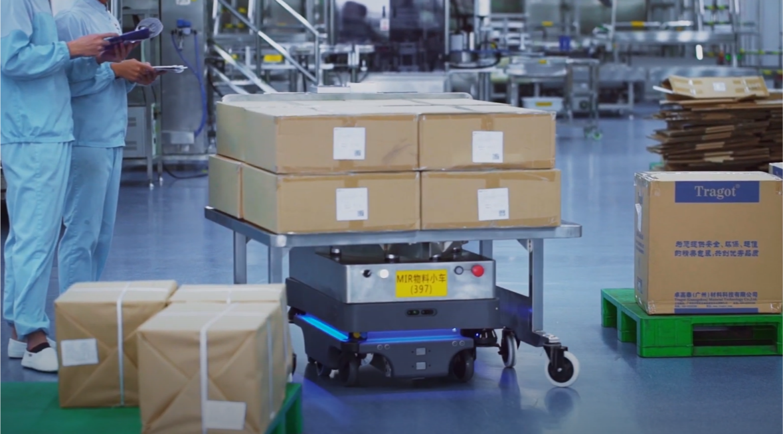 コロナ禍におけるモバイルロボット市場 前年比24%増の見込み