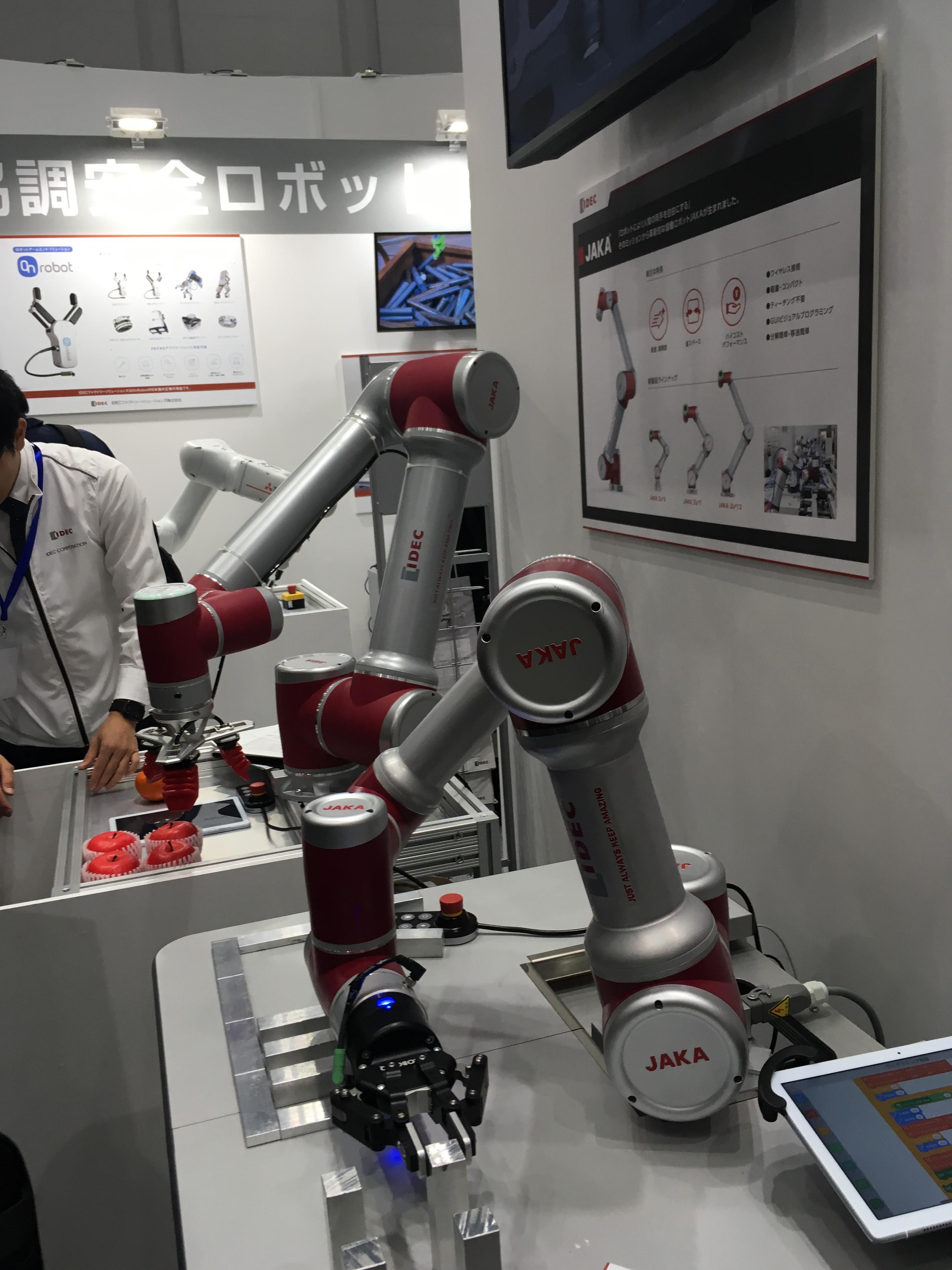 2019国際ロボット展、IDEC展示ブースレポート
